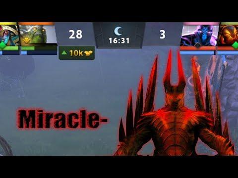 Miracle- камбэк с 28:3 на 16-ой минуте