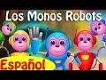 Cinco Monitos Saltan En La Cama Parte 2 Los Monos Robots ChuChu TV Canciones De Niños mp3