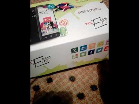 Tcl e5500 LTE