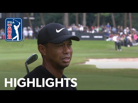 Tiger Woods' highlights   Round 1   ZOZO 2019