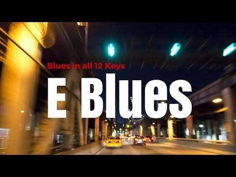 E Blues (Play-Along)