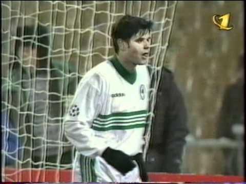 Динамо (Киев) - Панатинаикос (Греция) 2-1. ЛЧ - 1998/99(ОРТ).