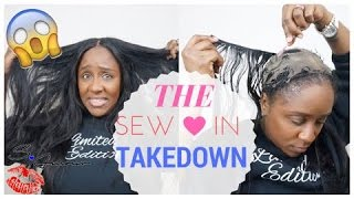 How To Take Down A Sew In Weave Yourself