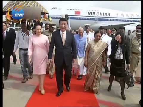 Chinese President Xi Jinping visits India