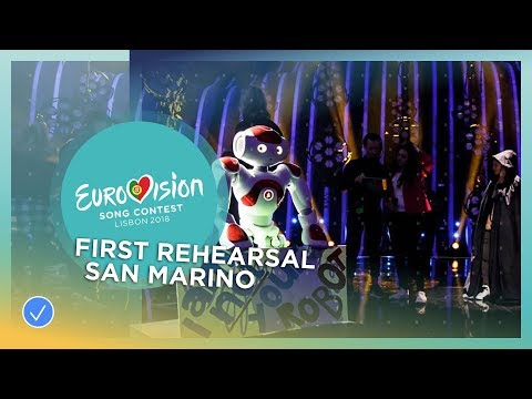 Jessika feat. Jenifer Brening - Who We Are - First Rehearsal - San Marino - Eurovision 2018
