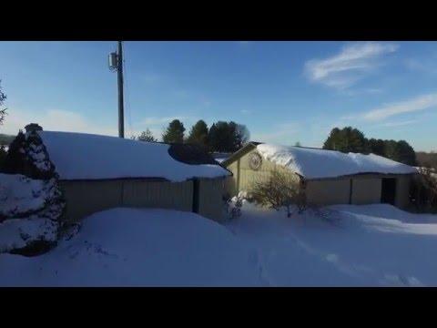 January 2016 Drone Joy Ride After a Big Snowstorm