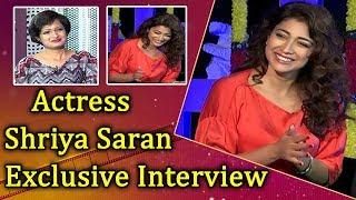 Actress Shriya Saran Exclusive Interview | Veera Bhoga Vasantha Rayalu