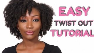 TWIST OUT TUTORIAL | 4C Natural Hair