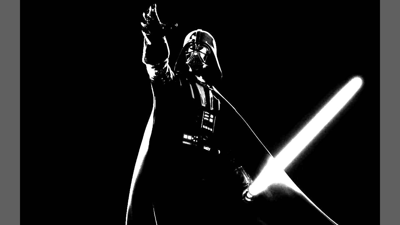 Star wars darth vader theme black metal version youtube for Darth vader black and white