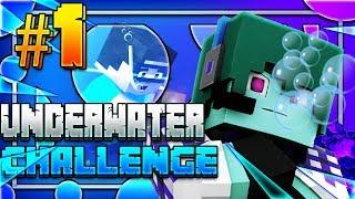 Minecraft Underwater Challenge - UNA CASA SOTT'ACQUA #1