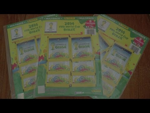 UNBOXING MULTIPACK ☆ 2014 Panini FIFA WORLD CUP Sticker Collection ☆ 6 PACKS opening