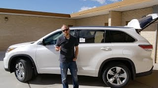 2015 Toyota Highlander Limited AWD: Is it any different?  Full Review and Test