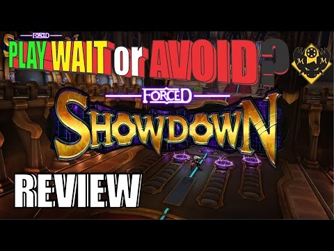 Play Wait or Avoid? Review of Forced Showdown