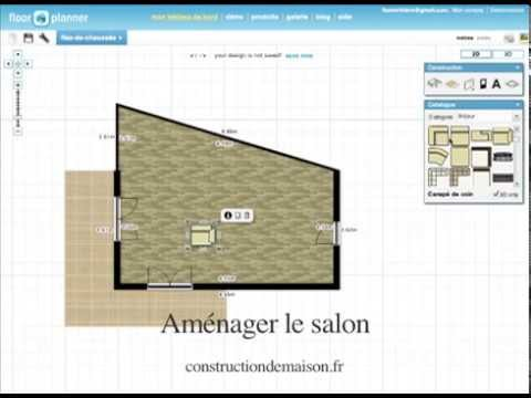 Comment faire les plans de sa maison youtube for Programme pour faire des plans de maison