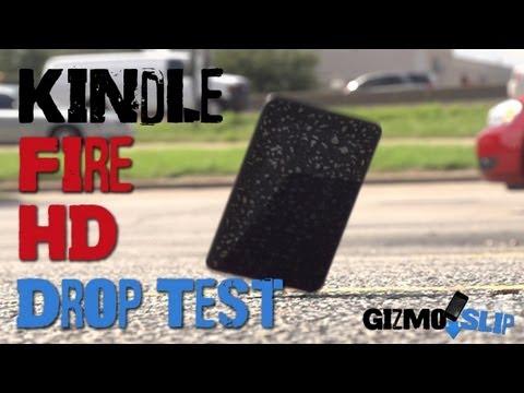 Drop Test: Kindle Fire HD