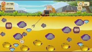 Chơi Game Đào Vàng lever 13 có thuyết minh-Bé chơi game đào vàng hay nhất  -Kids TV Thu Phương