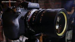 Fuji GFX + SLR Magic Hyperprime 50mm @ f0.95 : video and still samples