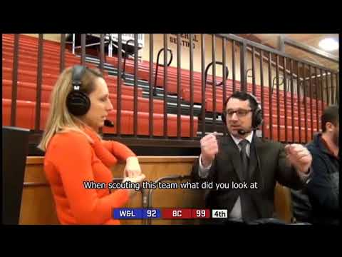 Interview With Women's Basketball Head Coach Sarah Mathews After Impressive Win vs. W&L