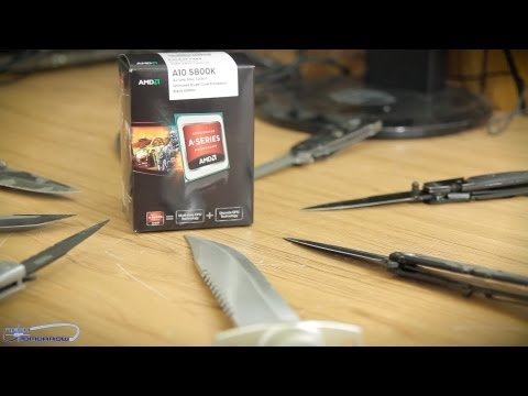 AMD A10 5800K 3.8GHz Black Edition Quad Core APU Unboxing