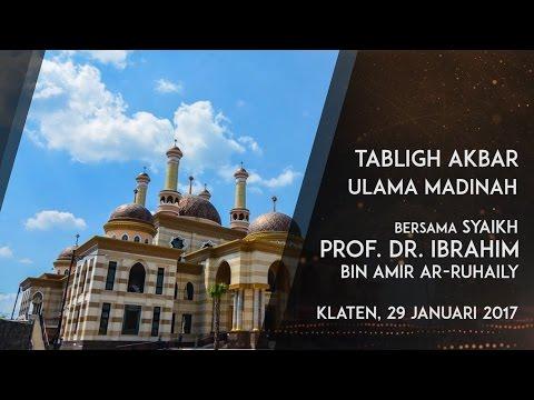 Trailer Tabligh Akbar: Nikmat Aman di Indonesia - Syaikh Prof. Dr. Ibrahim bin Amir Ar-Ruhaili