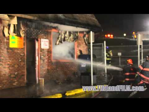 2nd Alarm Commercial Fire - Girardville, PA - 11/28/12
