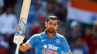 India vs Australia 2015-16 2nd ODI || Rohit Sharma's second successive century