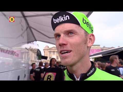 Lars Boom uit Vlijmen won een etappe in de Tour de France van 2014
