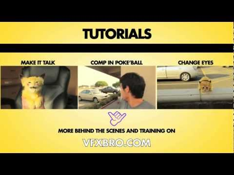 """Hunt for Pikachu"" Behind the Scenes -  VFX Breakdown"