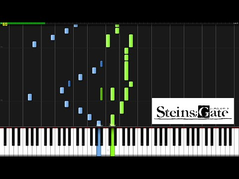 Hacking To The Gate (Opening Theme) - Steins;Gate [Piano Tutorial] (Synthesia)