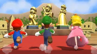 Mario Party 9 - Step It Up - Team Mario/Luigi/Peach VS Team Wario (Master Difficulty)
