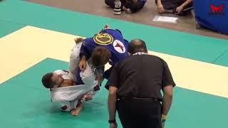 IBJJF 도쿄 아시안컵 어덜트 블랙벨트 페더급 채완기 선수 1회전