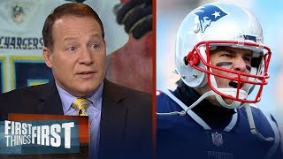 Eric Mangini reacts to Brady, Patriots' dominant win over the Chargers | NFL | FIRST THINGS FIRST