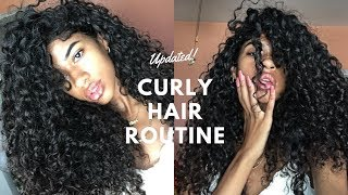 UPDATED Curly Hair Routine!