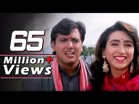 Govinda Kadar Khan Karishma Kapoor Raja Babu - Emotional Scene...