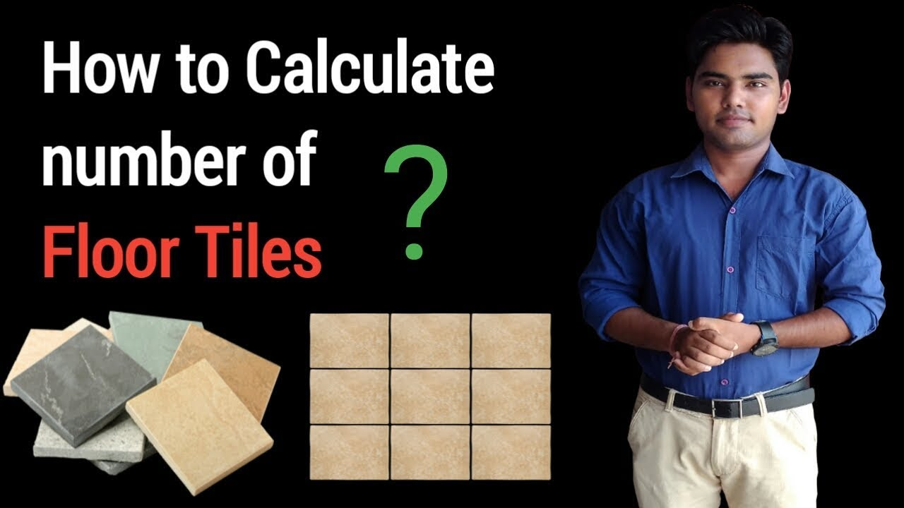 How to calculate floor tiles