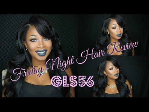 Baddie on a Budget  Friday Night Hair Wig Review GLS 56♡