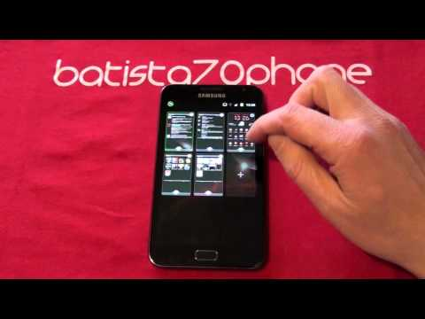 confronto launcher su samsung galaxy note video by batista70phone