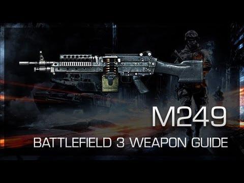 M249 : Battlefield 3 Weapon Guide, Gameplay & Gun Review