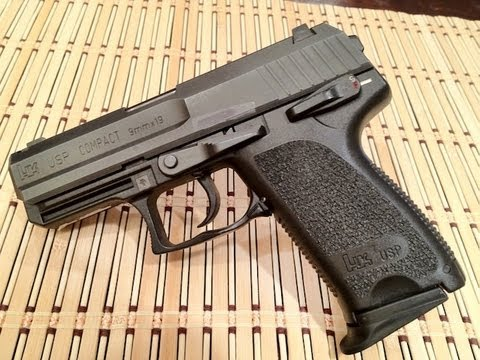 HK USP Compact 9MM Review