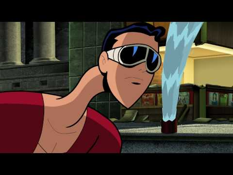 "BATMAN: THE BRAVE & THE BOLD Plastic Man ""Long Arm of the Law"" Cartoon Clip 1"