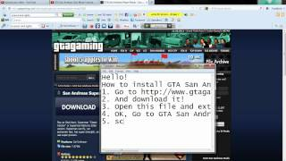 How to Install GTA San Andreas Superman Mod