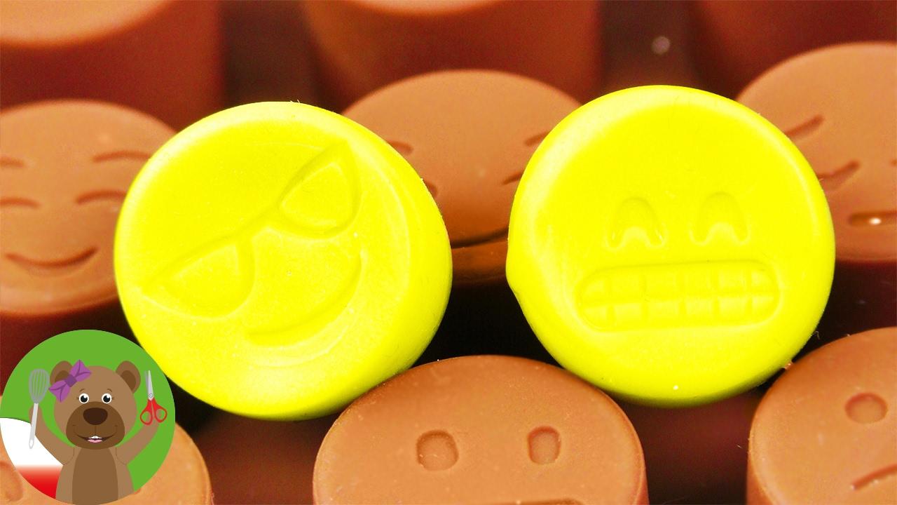 Mini Emotikonki | gumki do mazania z masy do gumek | pomysł na szkolne przybory