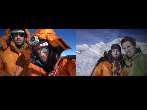La cumbre de los Mexicanos en la Arista Cassin del Mt. McKinley a 6,194 msnm
