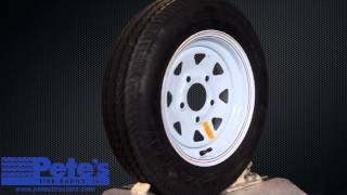 Carlisle Sport Trail Trailer Tire and Wheel 4.80x12 (5 Lug)