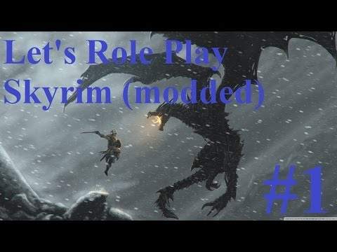 1. Let's Roleplay Skyrim (modded) - Arctic Shipwreck
