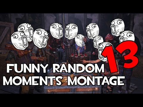 Dead by Daylight funny random moments montage 13