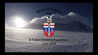 Mount Logan - King's Trench - June 2018