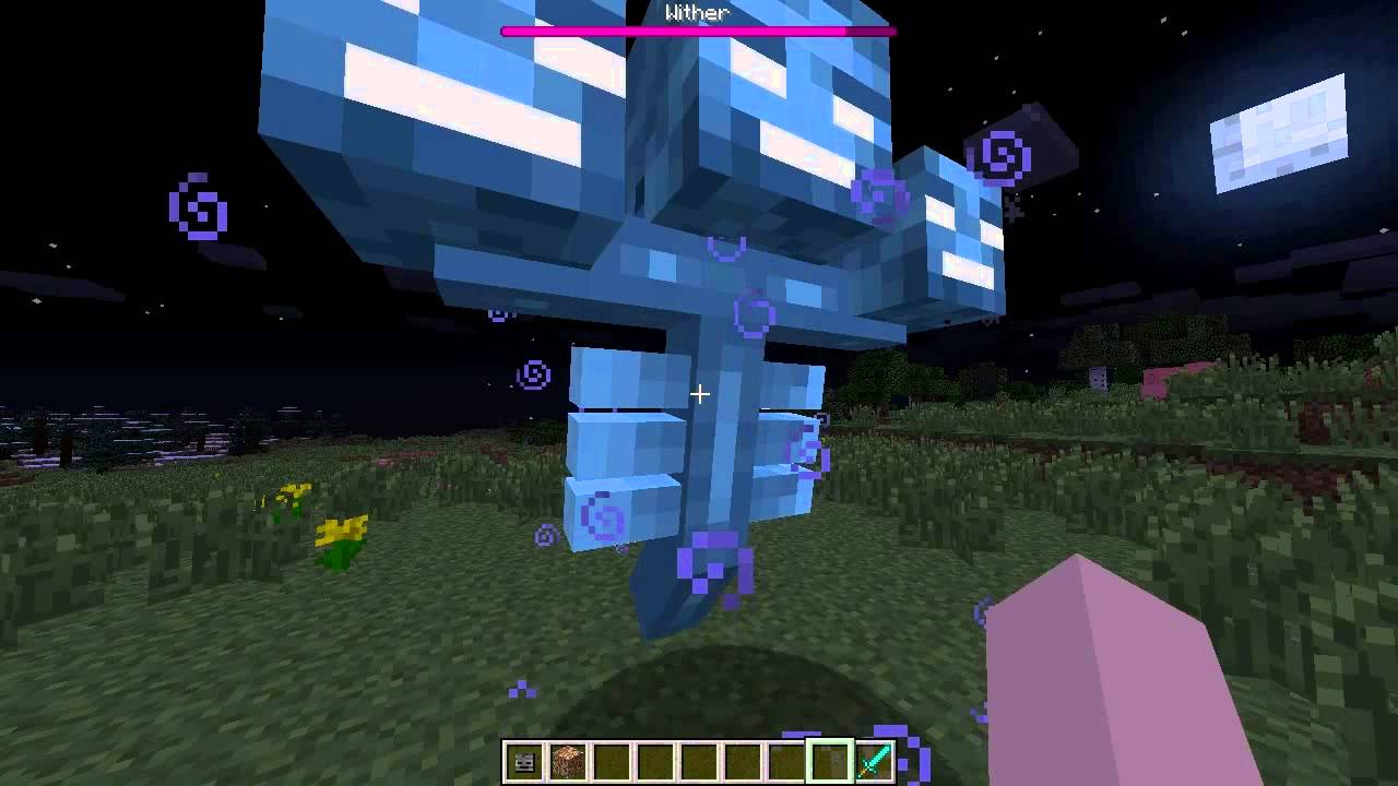 How To Build The Wither On Minecraft