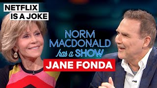 Norm MacDonald Asked Jane Fonda Who She Thinks Is The Hottest | Netflix Is A Joke
