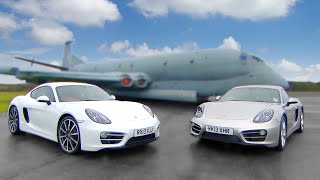 Porsche Cayman vs Porsche Cayman - Fifth Gear